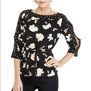 THE LIMITED split Sleeve Blouse top